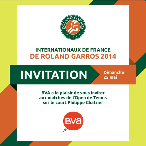 Roland Garros Tennis Tournament - Client invitation creation
