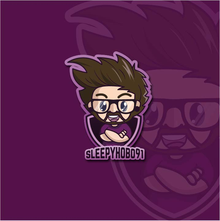 Energetic Twitch Streamer Needing a Brand Mascot / Logo | Fun and Bright Logo Design