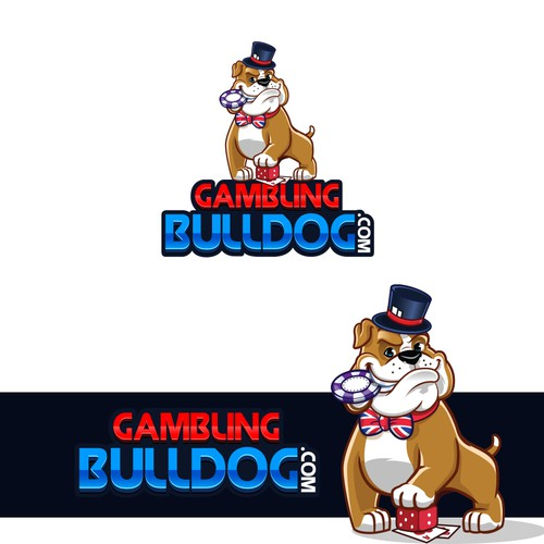 Cartoon Style Bulldog Logo