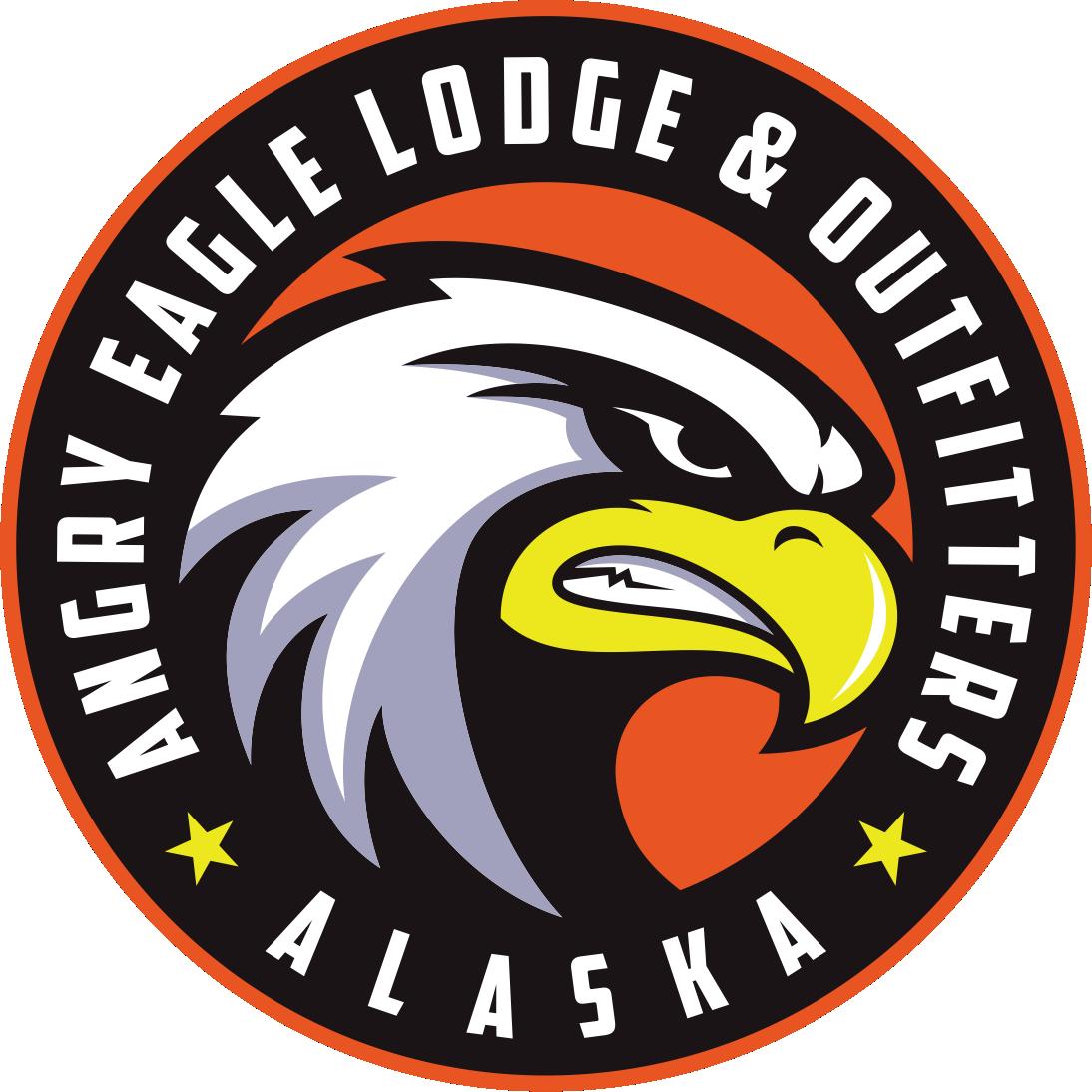 New Angry Eagle Cap Logo