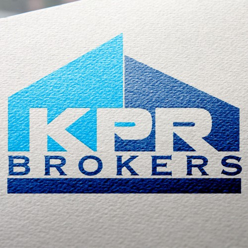 Create a design that incorporates rustic elegance with a modern logo for KPR Brokers.