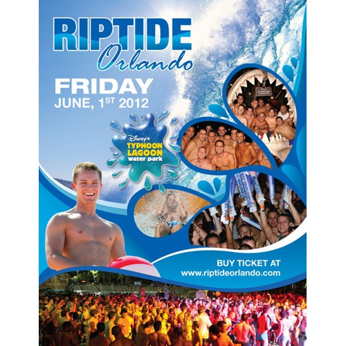 Riptide Orlando needs a new print or packaging design