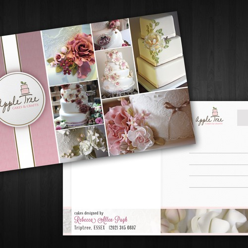 Apple Tree Cakes & Crafts Ltd needs a new postcard, flyer or print