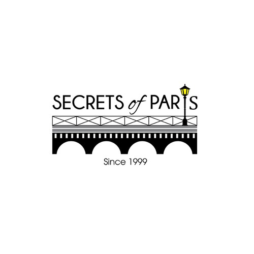 Logo concept for Secrets of Paris