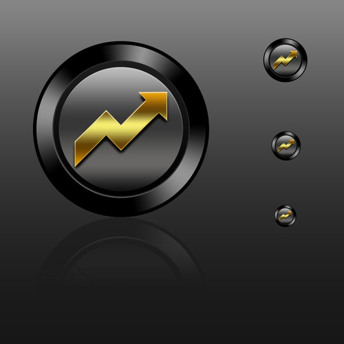 Android Launcher Icon for Gold price widget