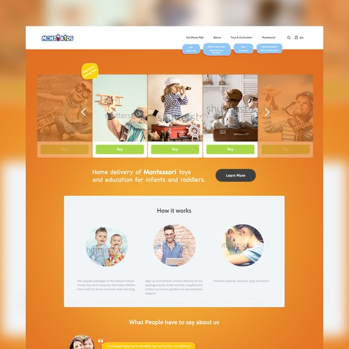 MontiKids Homepage