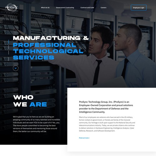 Website for Technological Services