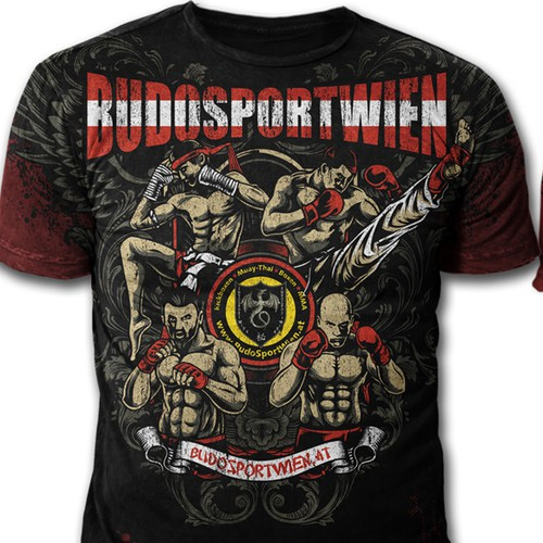 FIGHTER T-Shirt for BudoSportWien