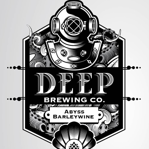 Artisan Brewery requires ICONIC Deep Sea INSPIRED logo that will weather the ages!!!