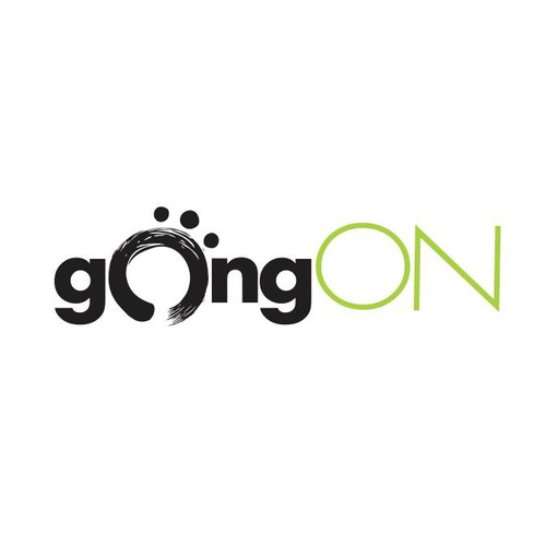 gongON logo creation