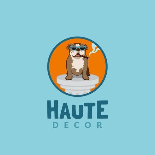 Playful logo for a interior decor company