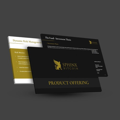 Presentation Design for Bitcoin Business