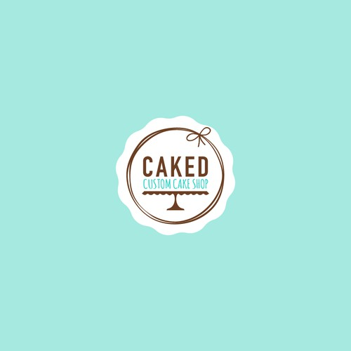 Logo for custom bake shop.