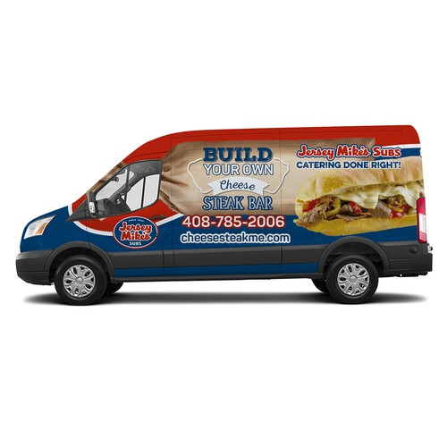 Carwrapp Design for Jersey Mike's Subs