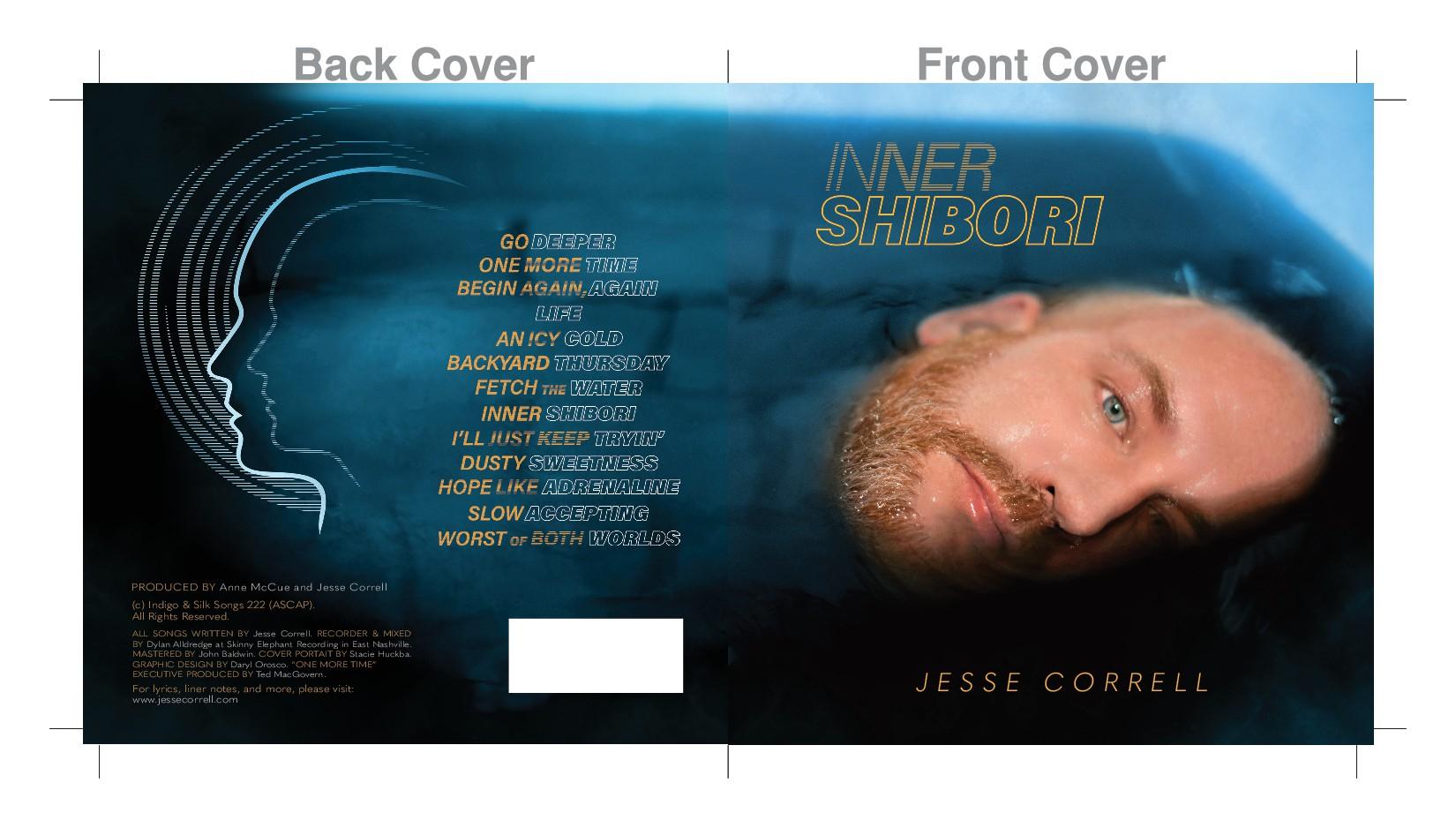 Inner Shibori CD Cover Art