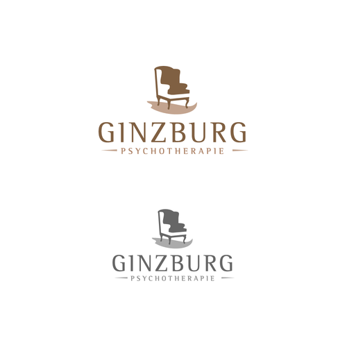 Logo for psychotherapy practice Ginzburg