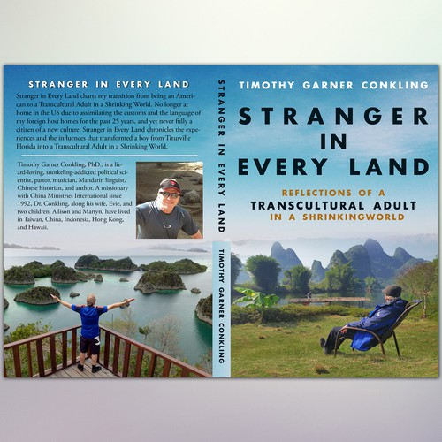 """Book Cover Concept for """"Stranger in Every Land"""""""