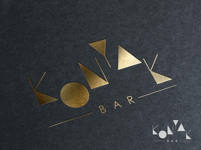 Create a wise and bold logo for a classy contemporary bar