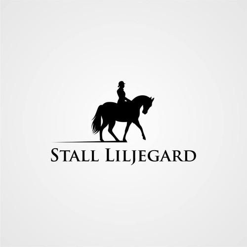 Horse Logo for Stall Liljegard