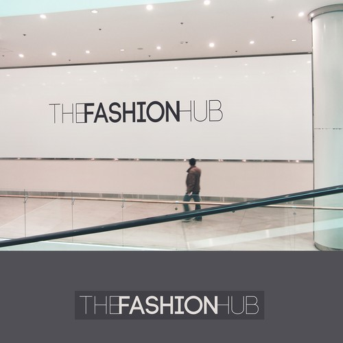 Concept logo for luxury shop trademark