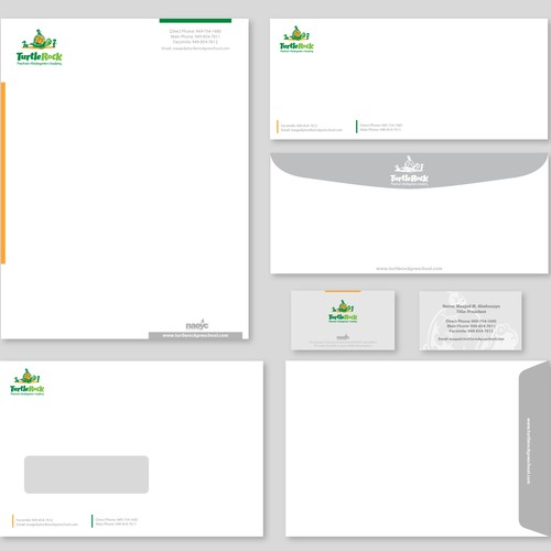 New Stationary Design for School using Existing Logo