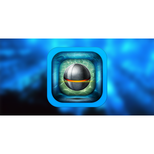 Water mine game icon