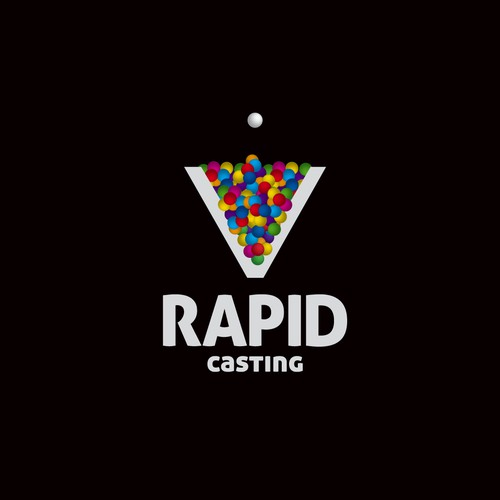 3D printing business called RAPID needs a logo.