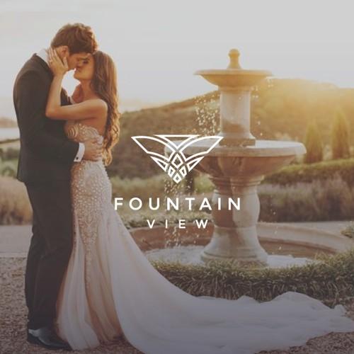 Fountain View - Luxury Logo Design