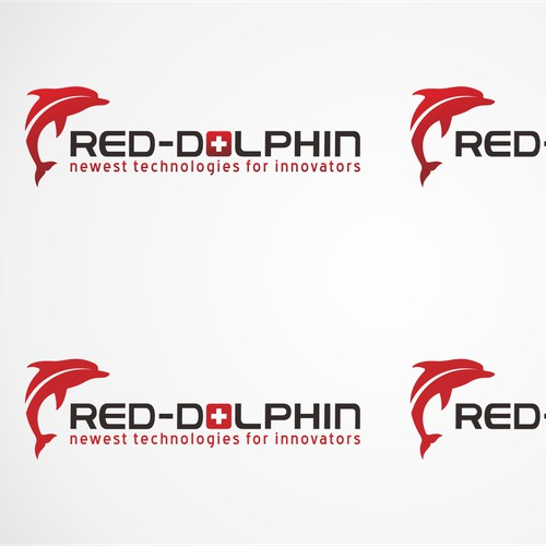 Create the logo for RED-DOLPHIN