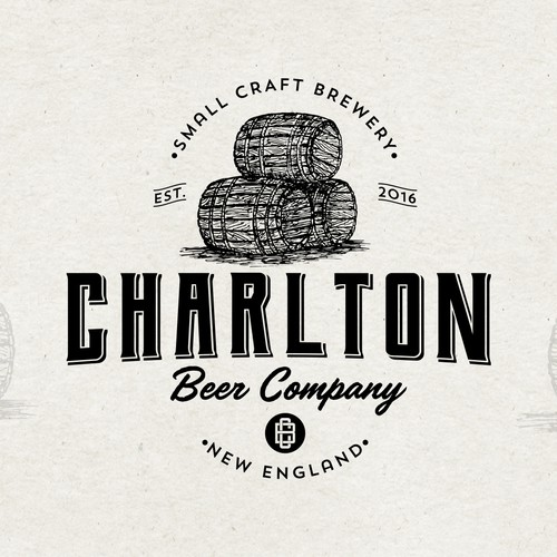 Logo concept for Charlton Beer Company