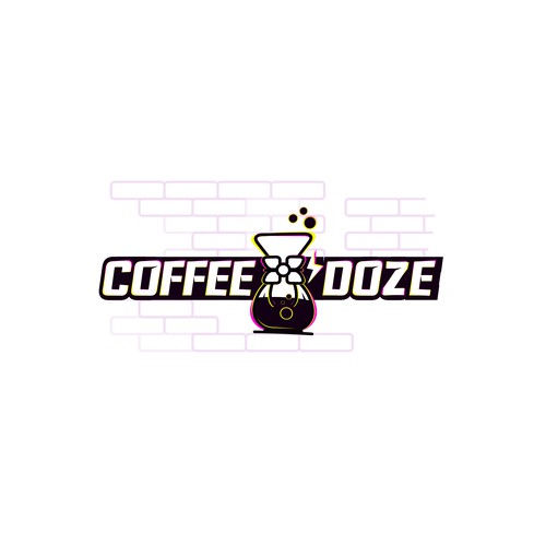Energized logo for coffee shop