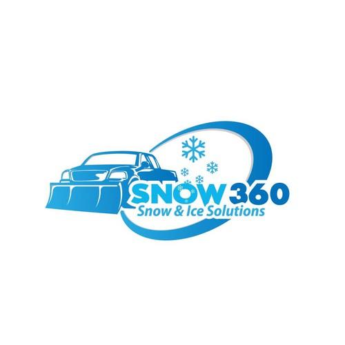 Logo concept for snow 360