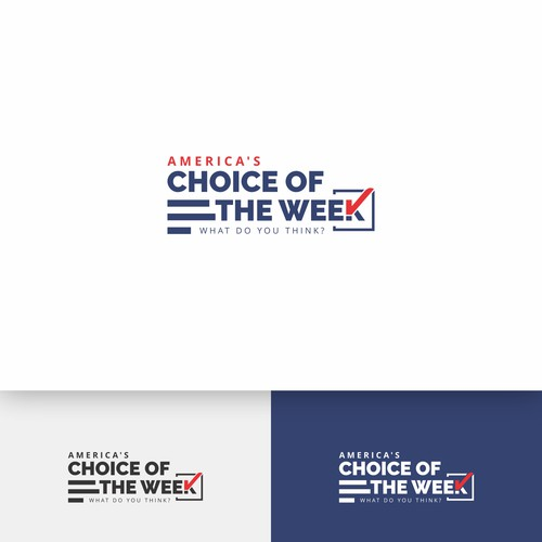 Bold Logo for America's Choice of the Week