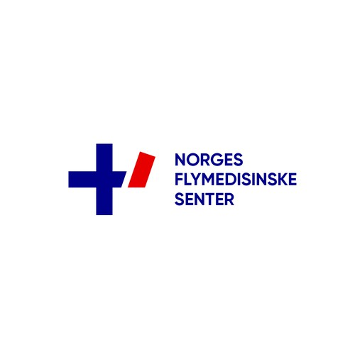 Logo concept for Aeromedical Center of Norway