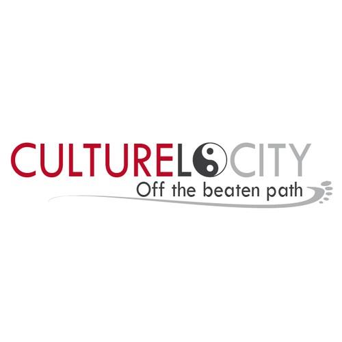 Logo concept for a special cultural travel Blog