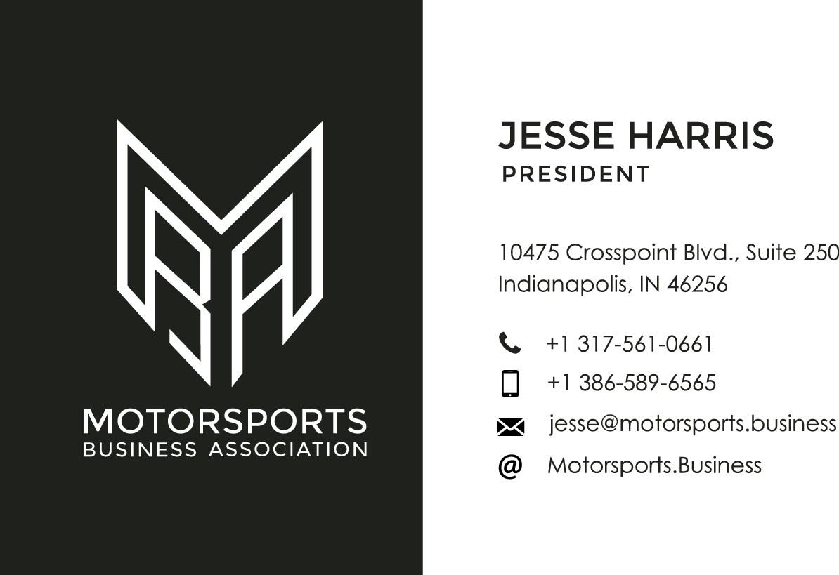 Motorsports Business Association needs a Business Card