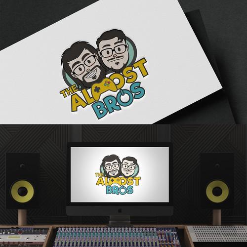 Logo concept for Almost Bros
