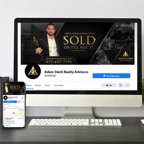 Luxury Real Estate Facebook Cover