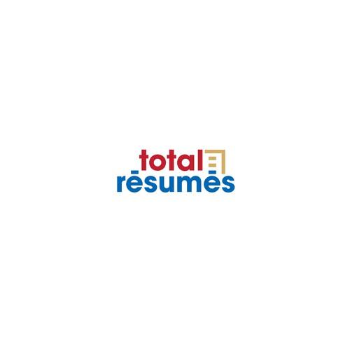 Create a stand out logo for Total Résumés