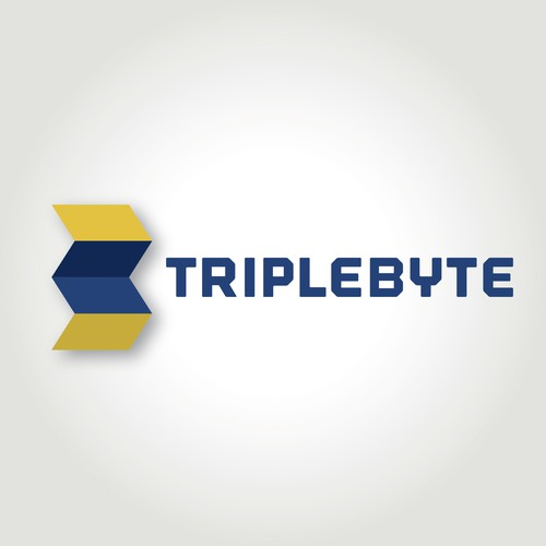 Create a company logo for Triplebyte, we help software engineers find work at great companies.