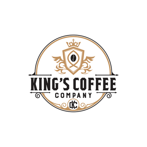 Logo for King's Coffee