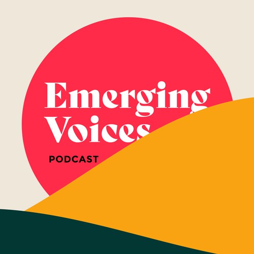 'Emerging Voices' podcast cover art