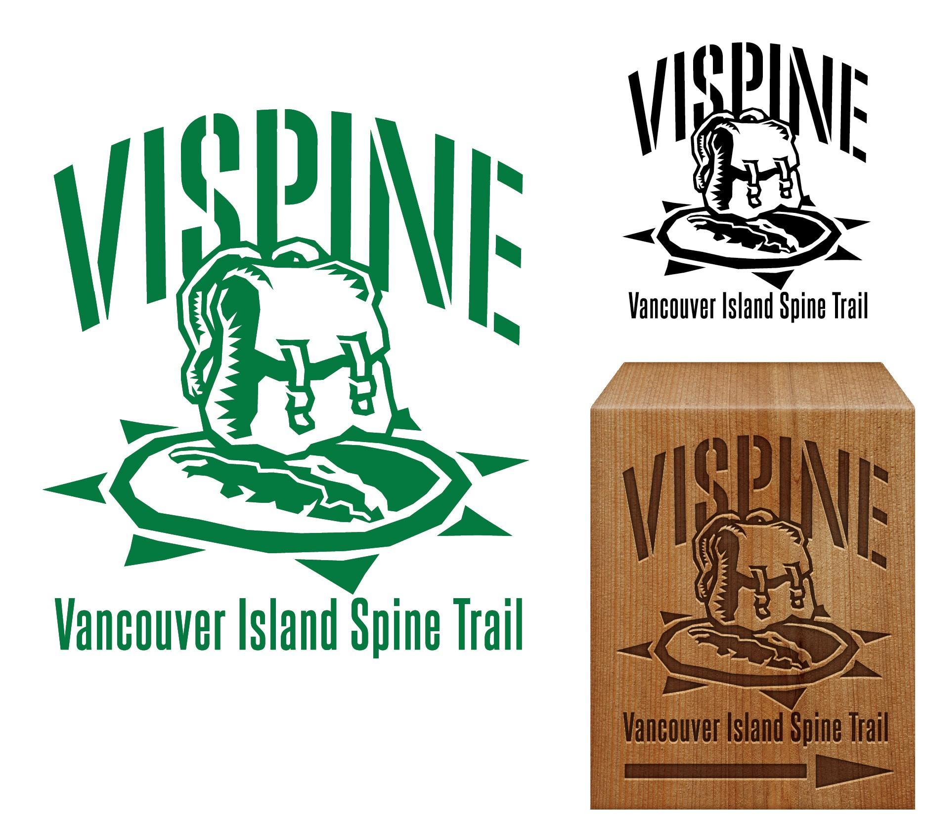 World class hiking trail logo/marker (VISPINE)