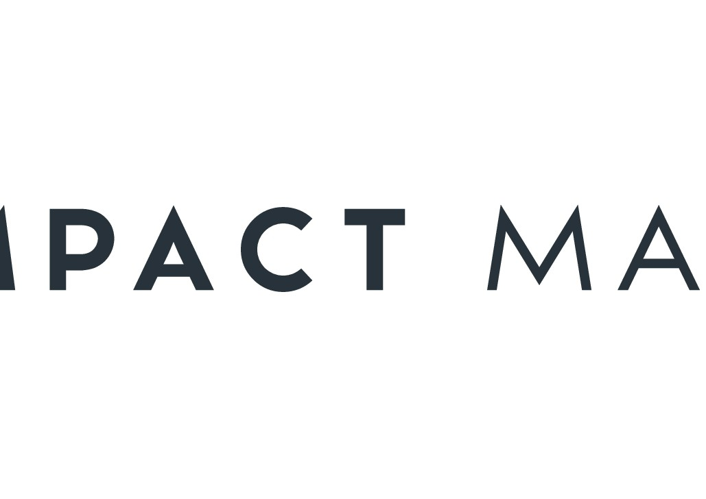 """impact matters"" is the name of our new startup and we are looking for a great logo"