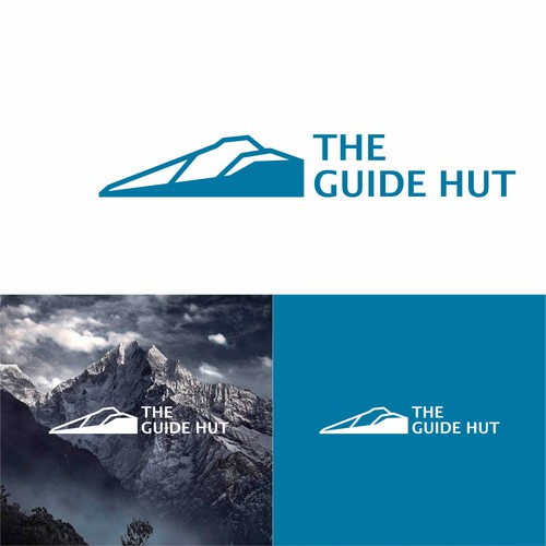 Simpel and memorable design for The Guide Hut