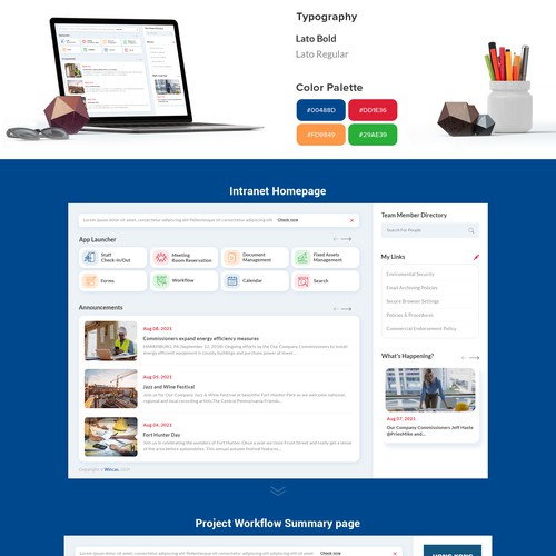 Construction web app