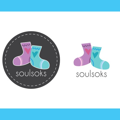 Submitted logo design for Soulsoks