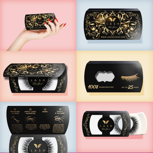 Luxury Packaging for Eyelashes
