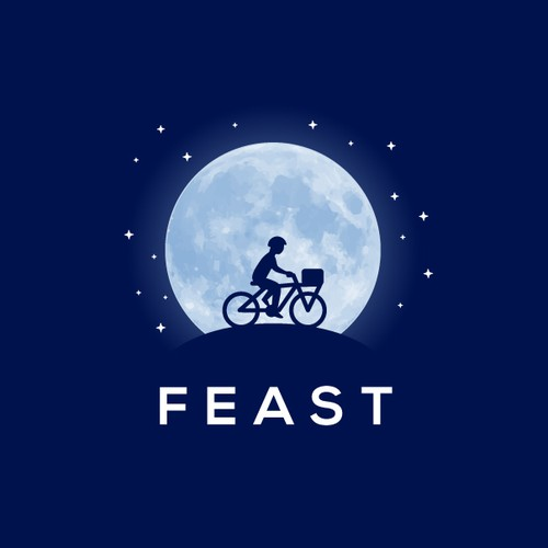 Logo for a night-time food delivery service