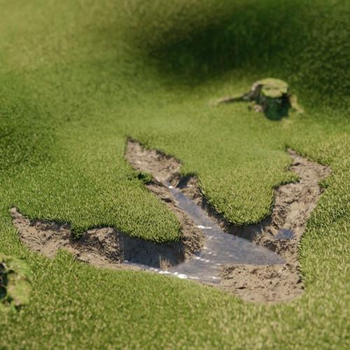 Concept Design A fairway's Golf Course